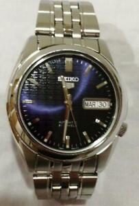 Seiko-seiko-5-Day-Date-Automatic-Mens-Watch-Authentic-Working