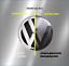 miniatura 1 - DIY-Folierung-Set schwarz passt für ACC-Front VW-Emblem Golf VII, Passat, Touran