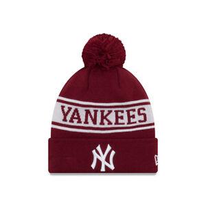 NEW ERA NEW YORK YANKEES JAKE NEYYAN BOBBLE HAT.MLB MENS WOMENS KNIT ... 612bd54b8b15