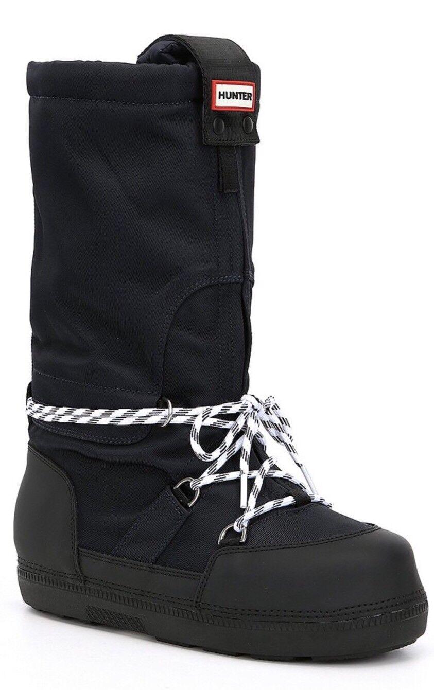 Hunter Original Invierno botas de nieve marina de guerra y Negro Nuevo En Caja  precio de venta sugerido por el fabricante