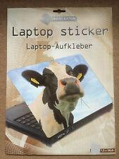 Laptop Cover Skin Sticker - Cow - 27.5 x 36.6cm