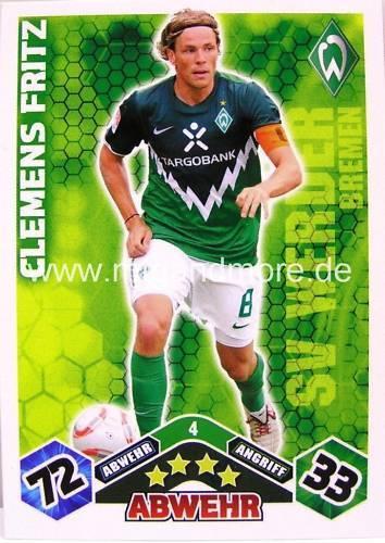 Match Attax  Clemens Fritz #4  10//11
