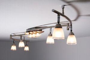 Plafoniere Da Soffitto Di Design : Lampadario da soffitto design 6 faretti plafoniera moderno metallo