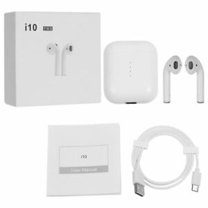 Bluetooth Kopfhörer Kopfhrer Wireless Kabellos In-Ohr Headset Musik I10 TWS