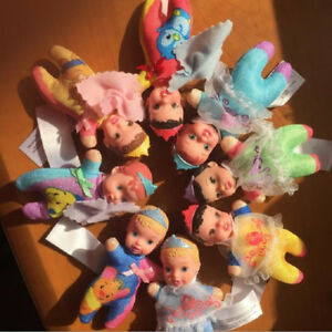 5pcs-lot-Cute-Mini-Mermaid-Snow-White-Princess-Belle-Baby-Dolls-Toy-Kids-Gift