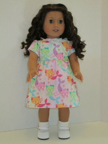 """Dress for 18/"""" American Girl Doll Clothes Purrmaids Cat Mermaids"""