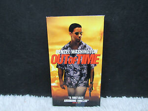 2003-Out-of-Time-Starring-Denzel-Washington-MGM-Pictures-VHS-Video-Tape