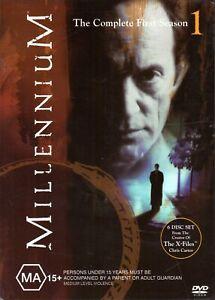MILLENNIUM-The-Complete-First-Season-DVD-R4-2005-6-DISC-BOX-SET-VG-FREE-POST
