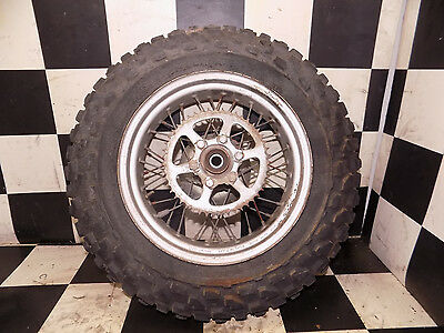 87 1987 tw 200 tw200 rear wheel rim hub sprocket