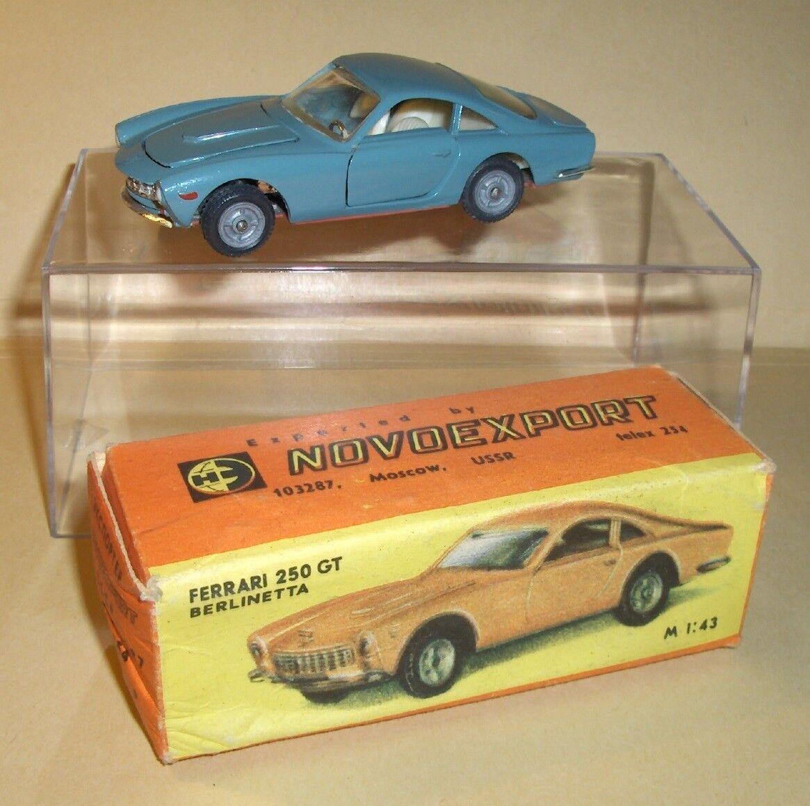 VINTAGE USSR FERRARI 250 GT BERLINETTA by NOVOEXPORT - Mint Boxed