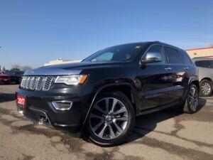 2017 Jeep Grand Cherokee OVERLAND**LEATHER**PANORAMIC SUNROOF**TRAILER TOW