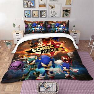 Sonic Forces Duvet Cover Set Quilt