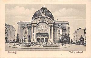B71988-Cernauti-Czernowitz-Teatrul-National-ukraine-cernoviti-romania