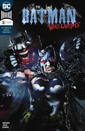 Batman Who Laughs #3 JOCK Variant Ships FREE DC METAL NM+