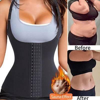 Fajas Reductoras Colombianas Waist Trainer Abdomen Sauna Body Shaper Fat Burner