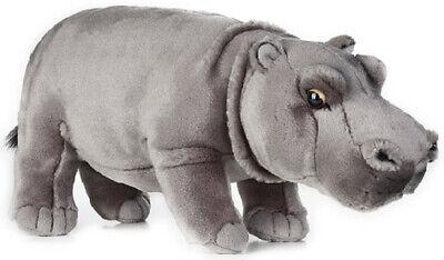 "Hippo Hippopotamus plush toy 13/""//33cm stuffed animal National Geographic NEW"