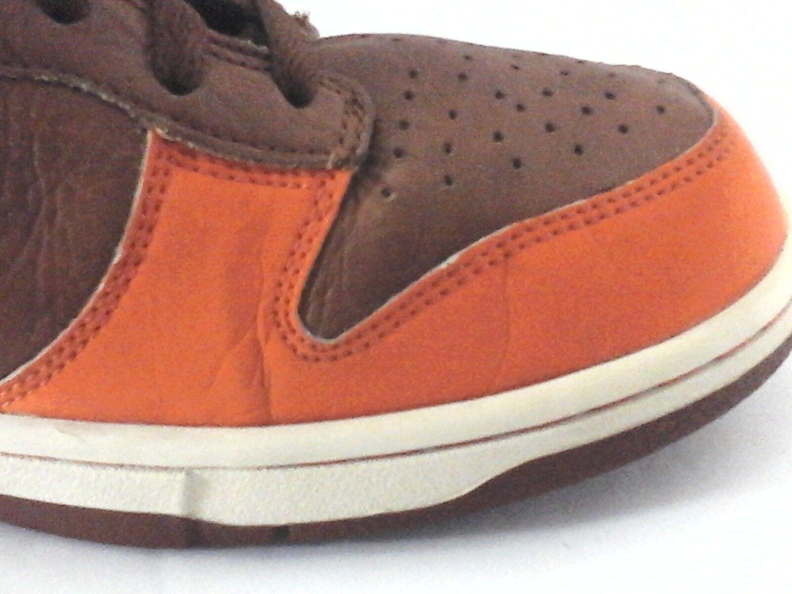 NIKE Schuhes 312786-891 312786-891 312786-891 Braun/Gray/Orange High Top Sneakers  Herren US 10.5/44.5 RARE 8ef005