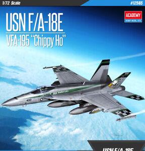 1-72-12565-USN-F-A-18E-VFA-195-034-Chippy-Ho-034-ACADEMY-HOBBY-MODEL-KITS