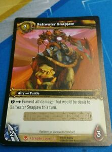 Details about World of Warcraft Saltwater Snapjaw LOOT Unused Tcg  UNSCRATCHED turtle mount
