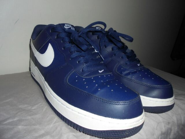 Navy Nike Midnight Sneakers White Af1 14 1 Mens Force Low Air Lifestyle Casual wP0O8nkX