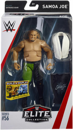 WWE Mattel Samoa Joe Elite Series #56 Figure