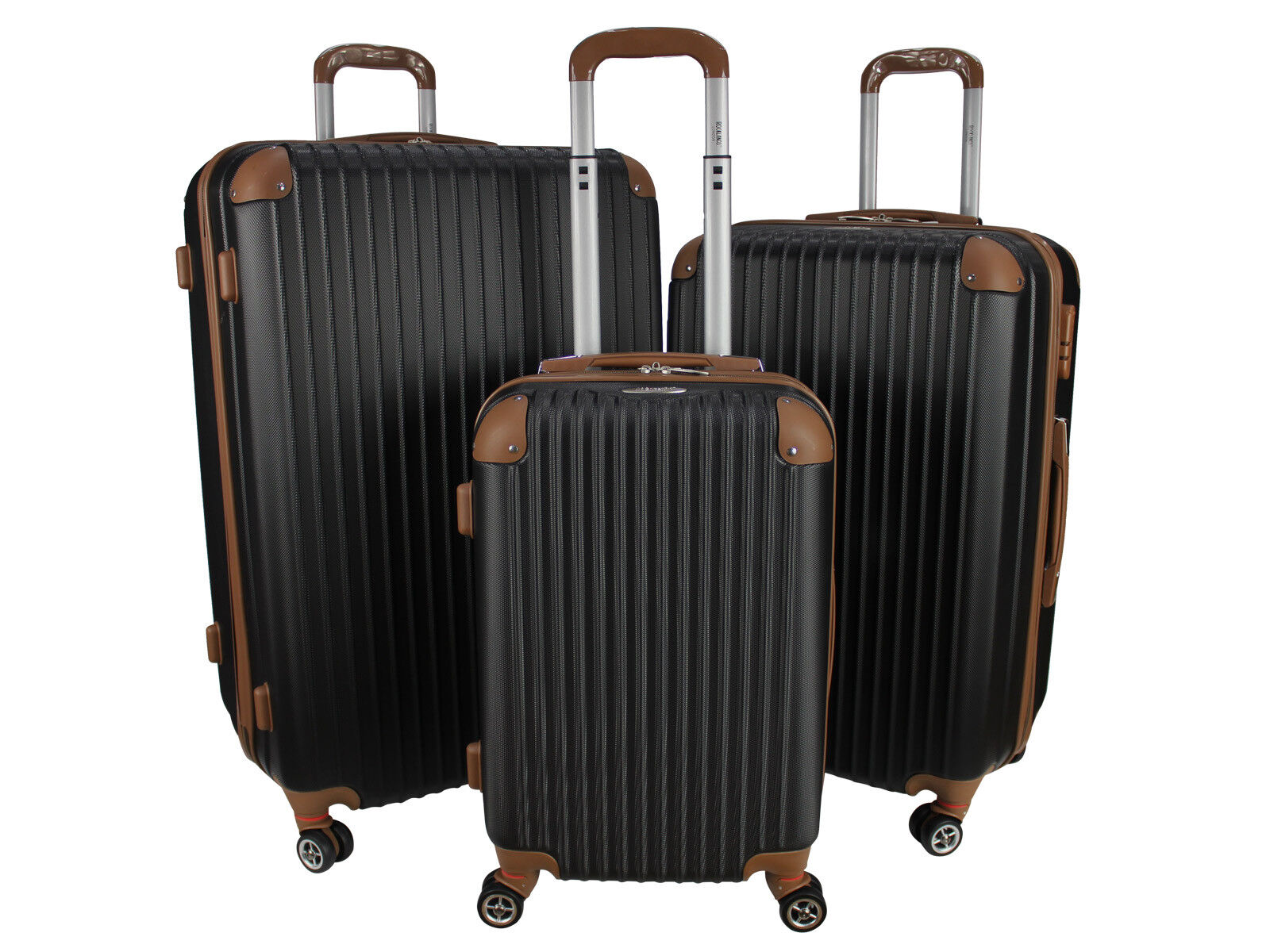489f0f0bc Cabin Travel Bag 4 Wheel ABS Lightweight Suitcase Hand Luggage ...