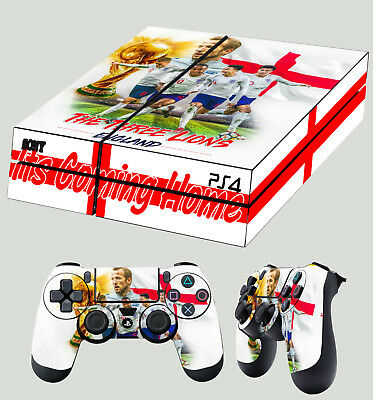Pad Vinilo Pure And Mild Flavor United Ps4 Piel Mundial Inglaterra 3 Leones Playstation Pegatina Juego Video Game Accessories
