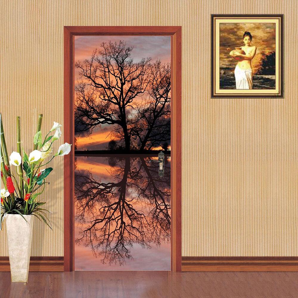 3D Zweige 82 Tür Wandmalerei Wandaufkleber Wandaufkleber Wandaufkleber Aufkleber AJ WALLPAPER DE Kyra   Glücklicher Startpunkt  f91b9a