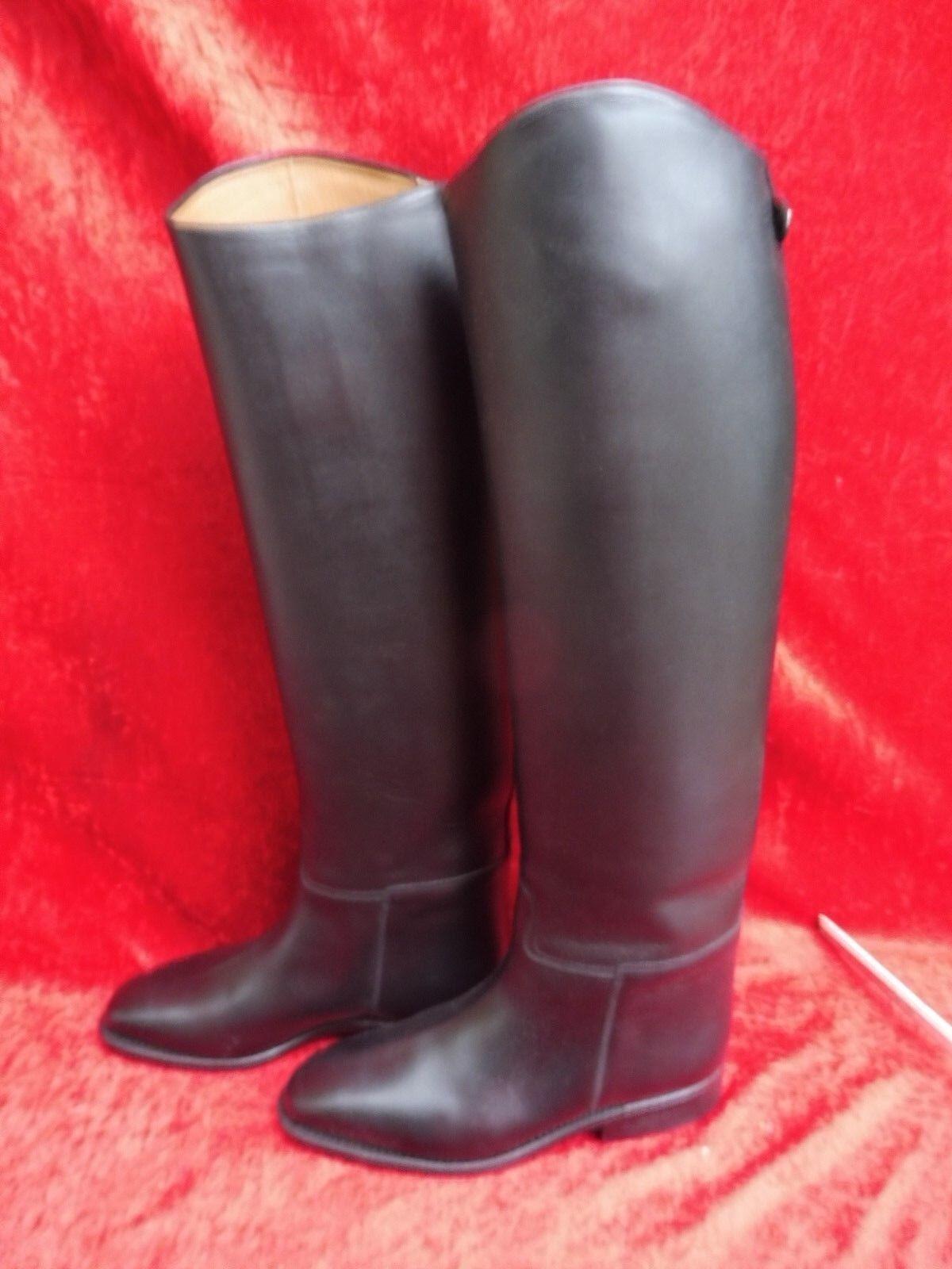Cavallo botas de Montar ___ Talla 6 6 6 __ Cuero __ Negro __ Nuevo __  seguro de calidad