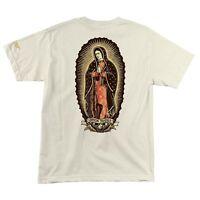 Santa Cruz 40th Jason Jessee Lady Guadalupe Skateboard Shirt Natural Xl on Sale