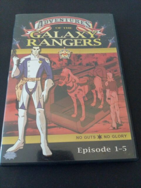 Galaxy Rangers - Episoden 01-05 - sehr guter Diskzustand,TV Serie,Animation