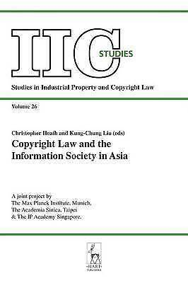 Copyright Law and the Information Society in Asia, AUTHOR, DUMMY, New Book