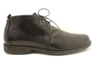 f6f47cb21bb92 Timberland Earthkeepers sz 11.5 City Chukka Boot Black Leather Anti ...