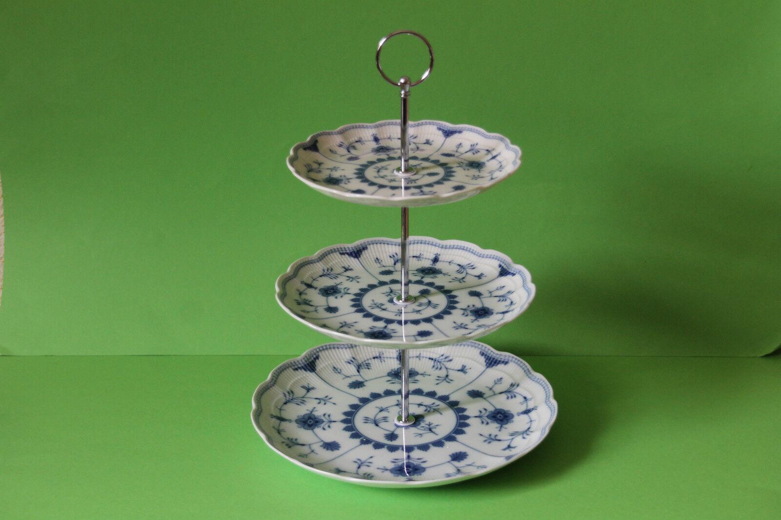 Superposés etagere assiette porcelaine KAISER romantica Bornholm 08169