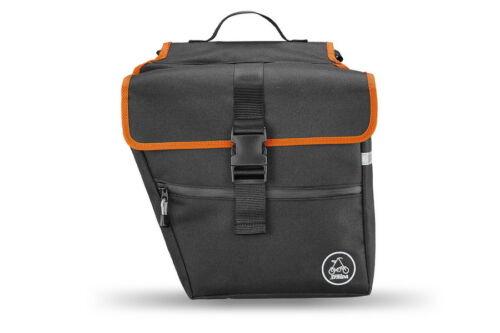 Black Strida Carrier Pannier Bag