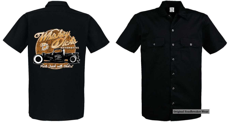 Worker Shirt mit V8 Oldschool Hot Rod-,US Car-& `50 Stylemotiv Modell  Whiskey D    Ruf zuerst    Ab dem neuesten Modell    Zürich    Der Schatz des Kindes, unser Glück    Sonderaktionen zum Jahresende