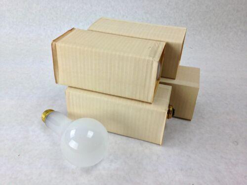 Dependable PDS Incandescent Frost 200W 130V MedBR 10K HR Light Bulbs Lot of 4