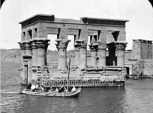 Egypt Photo 1900s View Temple of Philae