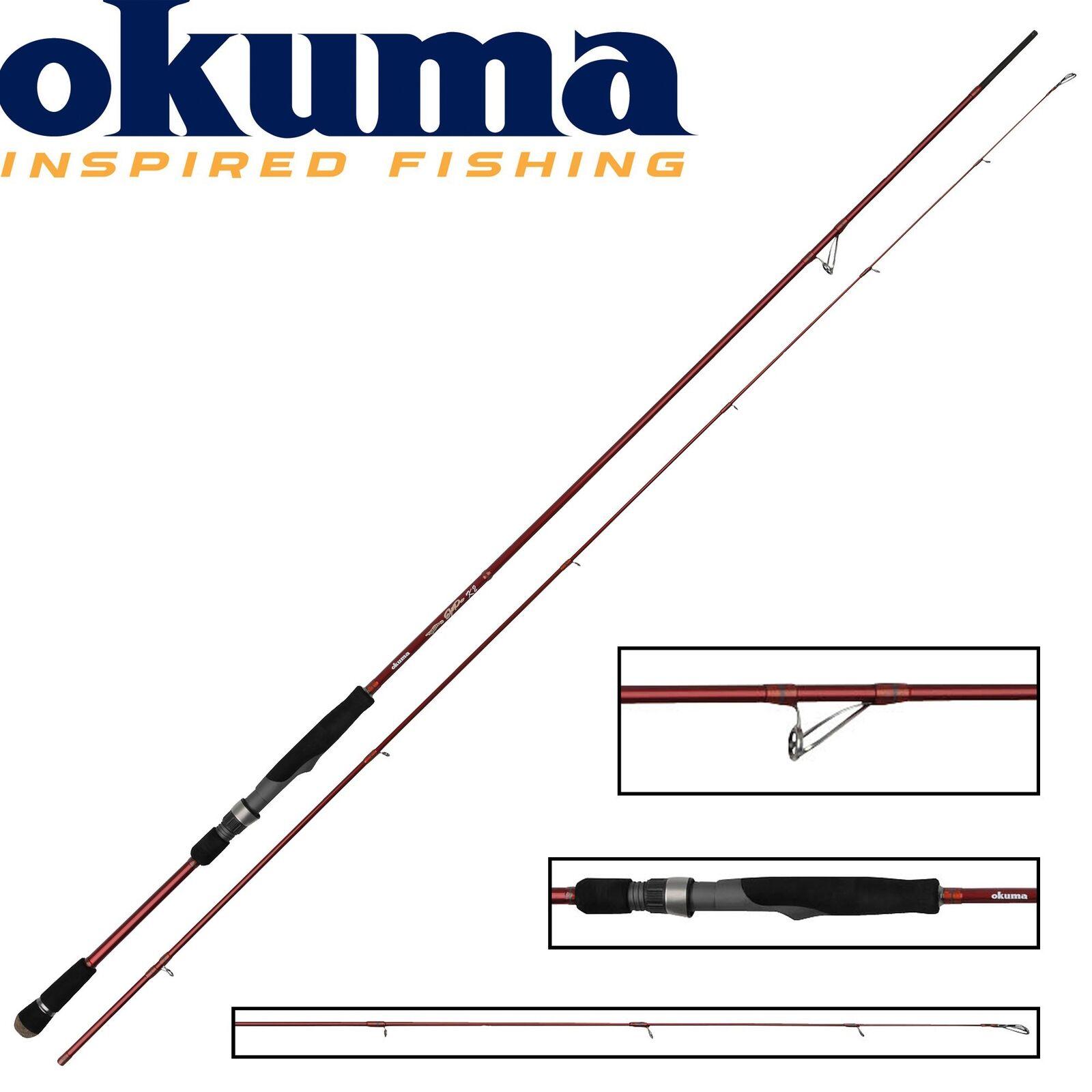 Okuma Egi Pro 245cm 3-20g leichte Spinnrute für Forelle und Barsch, Angelrute