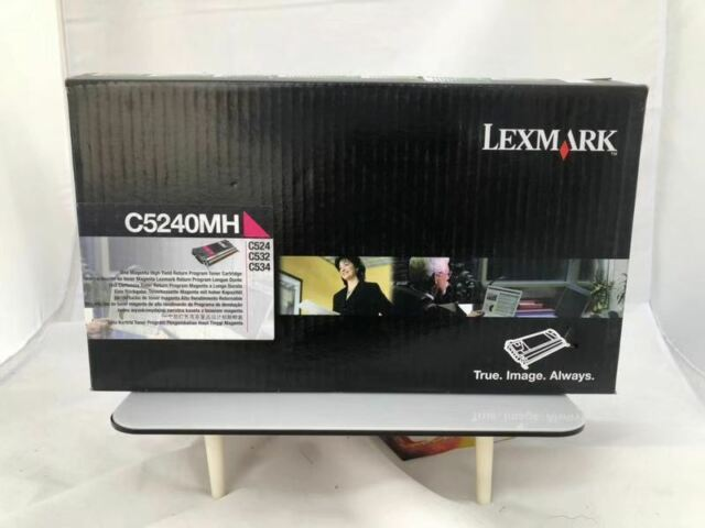 Genuine Lexmark C5240MH MAGENTA C524 C532 C534 High Yield 5,000 Pages