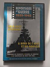 REPORTAGES DE GUERRE 1939 -1945 .. N°5 .. LES U-BOT / L'AJAX ET LE NORFOLK