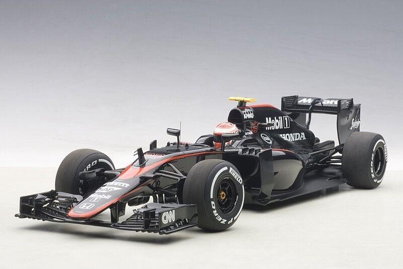 al precio mas bajo Autoart McLaren McLaren McLaren MP4-30 F1 2015 España botón  22 con Driver estatuilla escala 1 18  sin mínimo