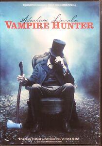 Abraham Lincoln Vampire Hunter Dvd 2012 Region 1 Ebay