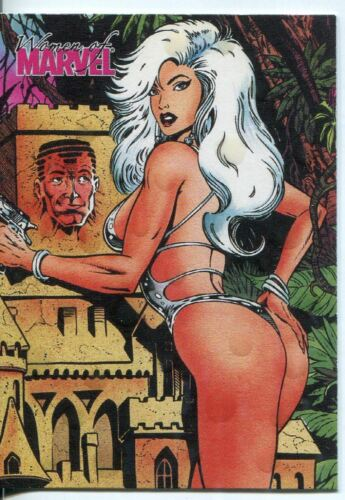 Women Of Marvel Series 1 Swimsuit Chase Card S15