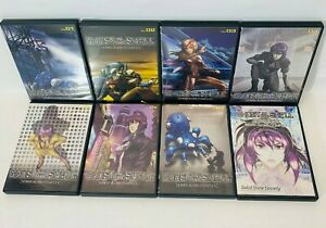 Ghost-In-The-Shell-Stand-Alone-Complex-SET-Volumes-1-7-LOT-8-DVD-Box-set