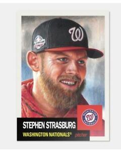2018-Topps-MLB-The-Living-Set-151-Stephen-Strasburg-Washington-Nationals