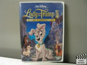 Lady And The Tramp Ii Scamp S Adventure Dvd 2001 786936140491 Ebay