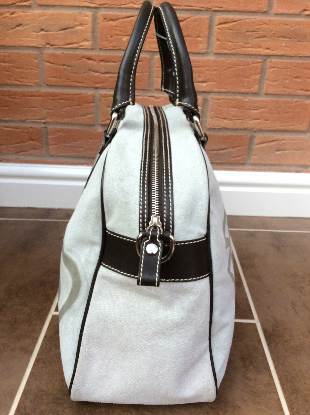 Vivienne Westwood Large Iconic Orb Tote Overnight Bag Retail Made in Italy  for sale online  6f6045863fc3b
