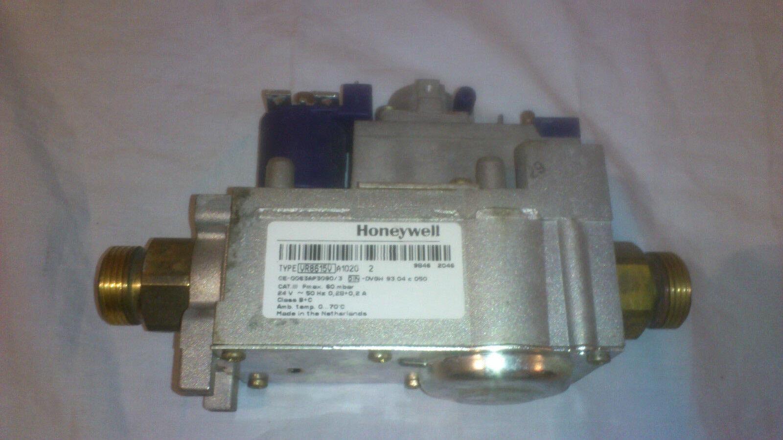 Honeywell Gasarmatur Typ VR8615V / VR 8615 V A1020 Gaskombiregler Buderus GB 112
