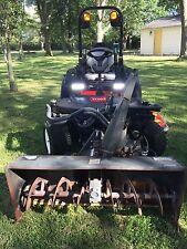 "2013 Toro Groundsmaster 360 Quad-Steer, 172hr 4X4, 72"" Mid-Mower, 53"" snowblower"